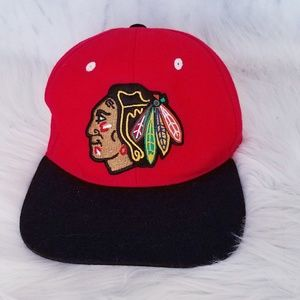 #243 Vintage 90s Zephyr NHL Redskins Hat Snap Back